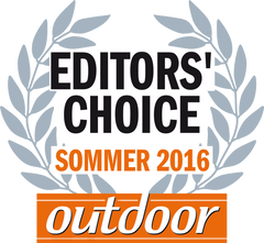 Logo Editors Choice 2016 Schlafsack