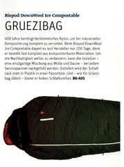 Einlage-Magazin-Outdoor-Messeguide 2019-Biopod DownWool Ice CompostAble 2019