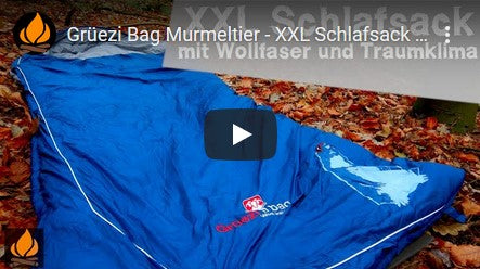 Grüezi bag Biopod Wolle Murmeltier Comfort XXL Schlafsack Test Youtube Video Thumbnail
