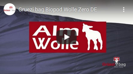 Grüezi bag Biopod Wolle Zero Schlafsack Youtube Video Thumbnail