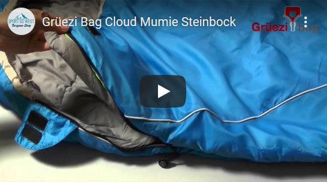 Grüezi bag Cloud Mumie Steinbock Schlafsack Youtube Video Thumbnail