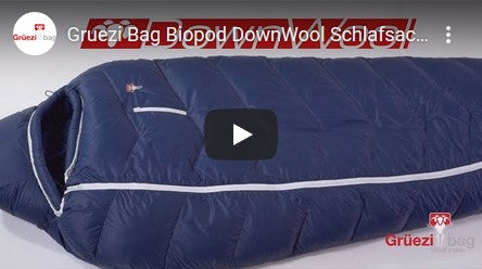 Grüezi bag DownWool Sleeping Bag Series Youtube Video Thumbnail