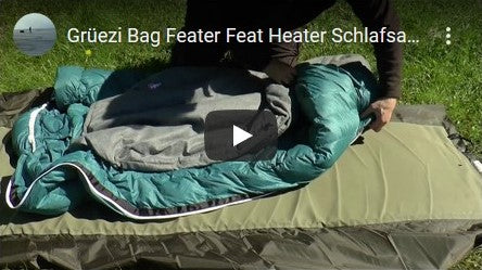 Grüezi bag Feater - The Feet Heater Test of Jackknife68 Youtube Video Thumbnail