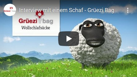 Grüezi bag Interview with a sheep on Youtube