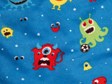 Mitwachsender Kinderschlafsack Kids Grow Monster Motiv im Detail
