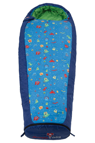 Mitwachsender Kinderschlafsack Kids Grow Monster