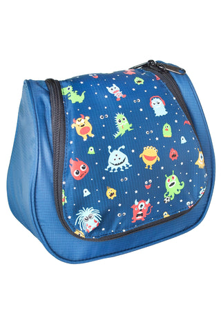 Kinder-Kulturbeutel Kids Washbag Funny Monster