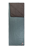 Grüezi bag Decke WellhealthBlanket Wool Home Chocolate/Smoky Blue