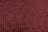 WellhealthBlanket Wool Home leichte Wolldecke dark red