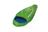 Grüezi bag Wollschlafsack Biopod Wolle Kids World Traveller Holly Green - Schrägansicht