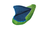 Kinder-Wollschlafsack Grüezi bag Biopod Wolle Kids World Traveller Holly Green