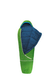 mitwachsender Kinderschlafsack Grüezi bag Biopod Wolle Kids World Traveller Holly Green