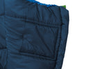 Grüezi bag Wollschlafsack Biopod Wolle Kids World Traveller Holly Green - Innentasche
