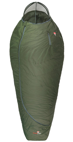Grüezi bag Schlafsack Biopod Wolle Survival XXL Wide