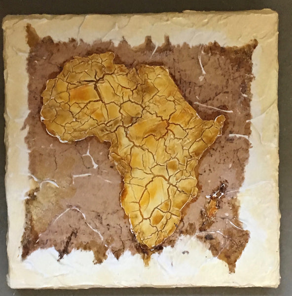 "Collection ""Africa""-Painting ""I love Africa"""