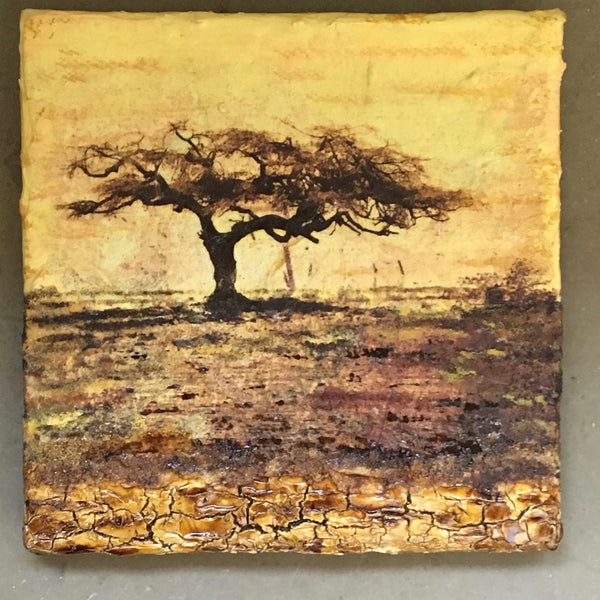 "Collection ""Africa""-Painting ""The Tree"""