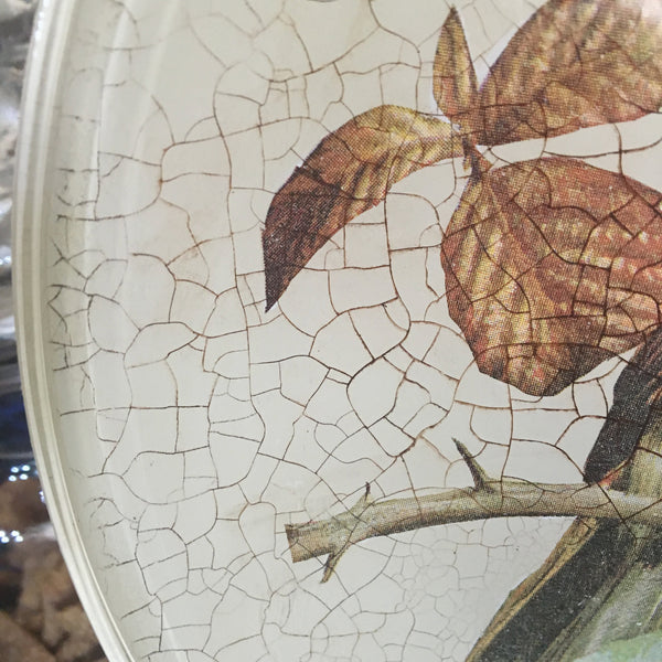 "Decorative plate ""Robin"""