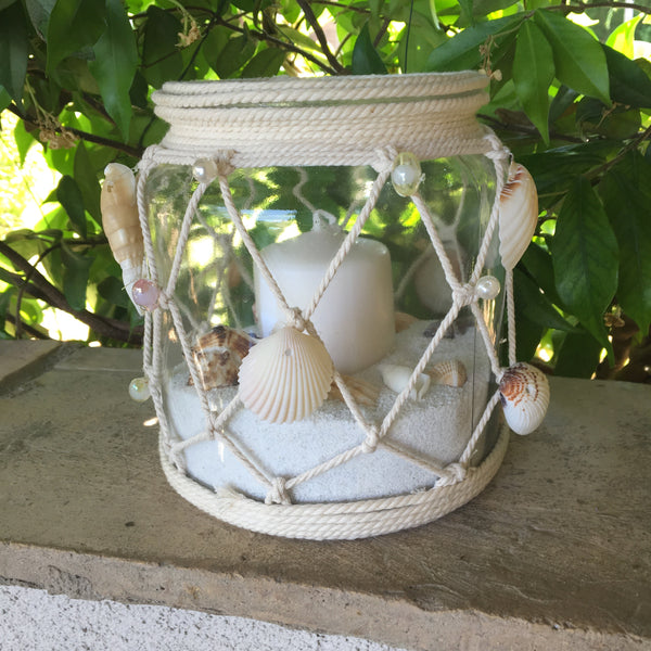 "Candle lamp ""Sea shells"""