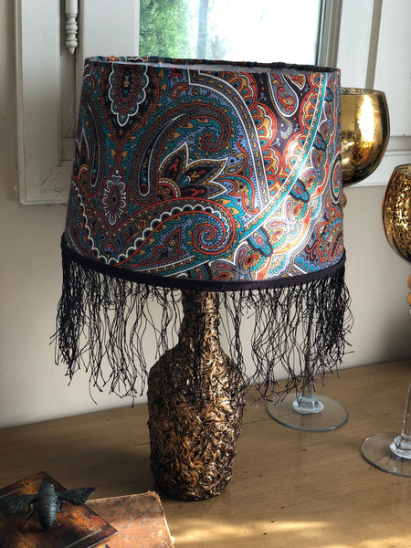 "Table lamp ""The pattern of the rain"""