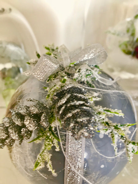 "Christmas ball ""Winter forest"""