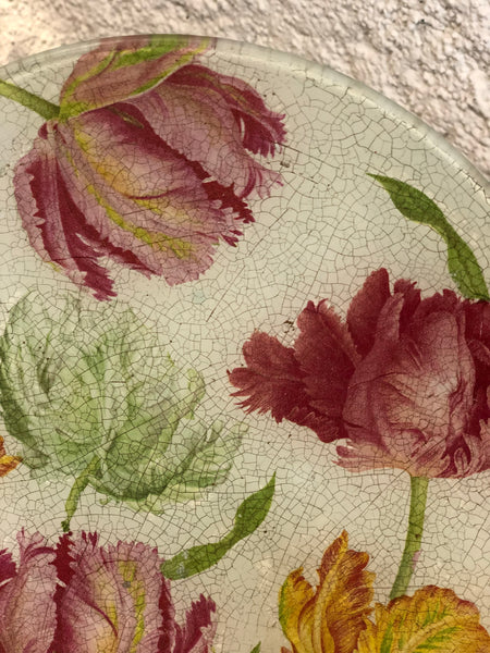 Decorative plate «Tulips»