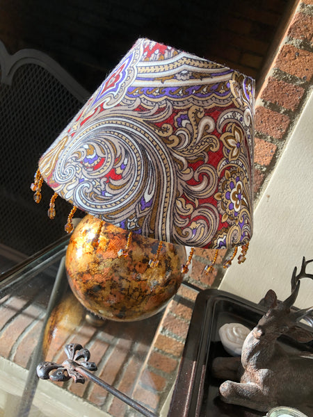 "Table lamp ""Antique gold"""