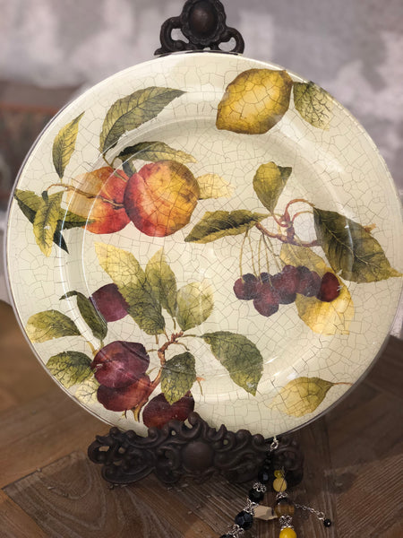 "Decorative plate ""Fruits"""