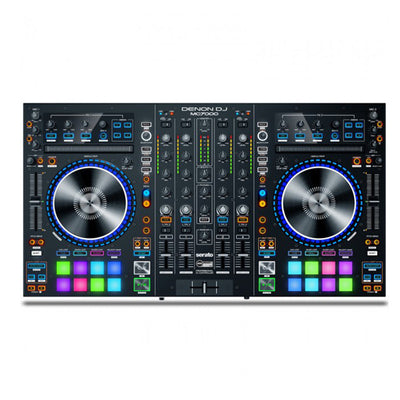 Denon MC7000 Professional DJ Controller with Dual Interface