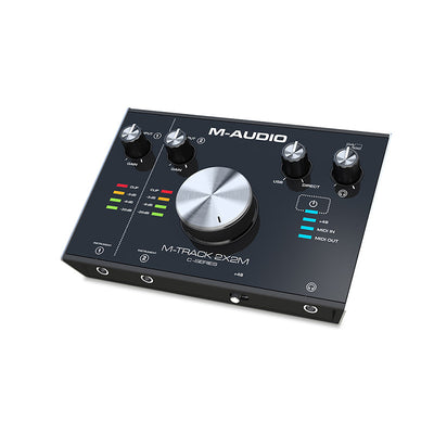 M-Audio M-Track 2x2M USB Audio Interface with Duel Mic
