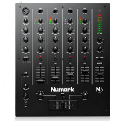 Numark M6 USB Mixer Black