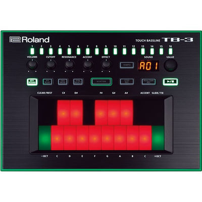 Roland Aira TB-3 Touch Bassline Bass Synth Sequencer