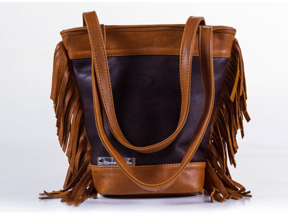 Leerhandsak / Leather Handbag - Sioux