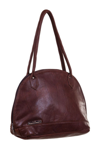 Leerhandsak / Leather Handbag - Teddy