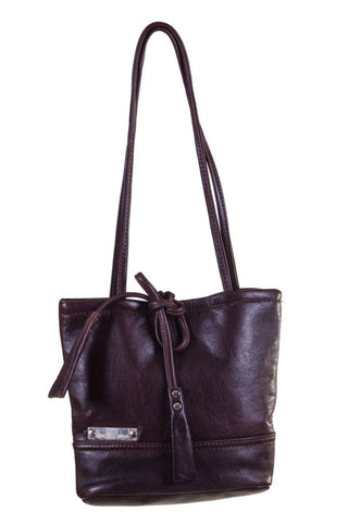Leerhandsak / leather Handbag - Tupps
