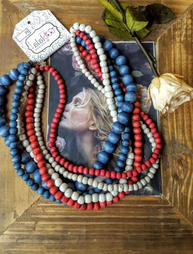 Houtkrale / Wooden Beads - Zandie's Design
