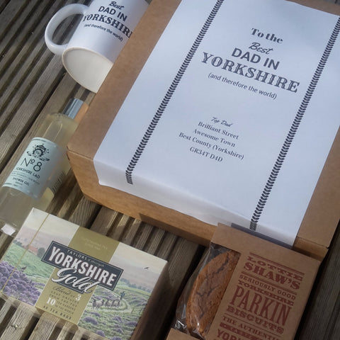 Yorkshire Fathers Day Box