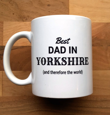 Best Dad in Yorkshire Mug
