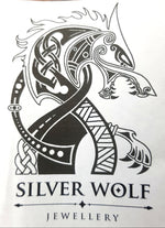 "Handcrafted ""Banksia"" Pendent/Brooch on a Silver Wheat Chain by Silver Wolf"