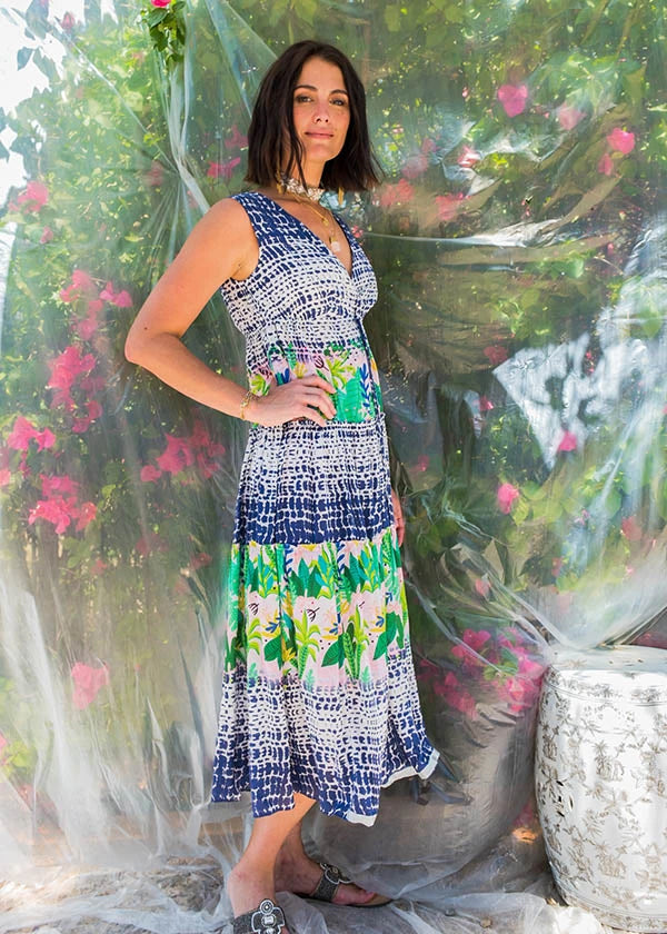 Abacos Midi Dress by Ruby Yaya