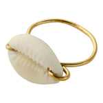 Cowrie Ring by Lisa Carney