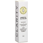 "Crystal Healing ""Clarity"" Essential Oil Roller 10ml by Summer Body Salt"