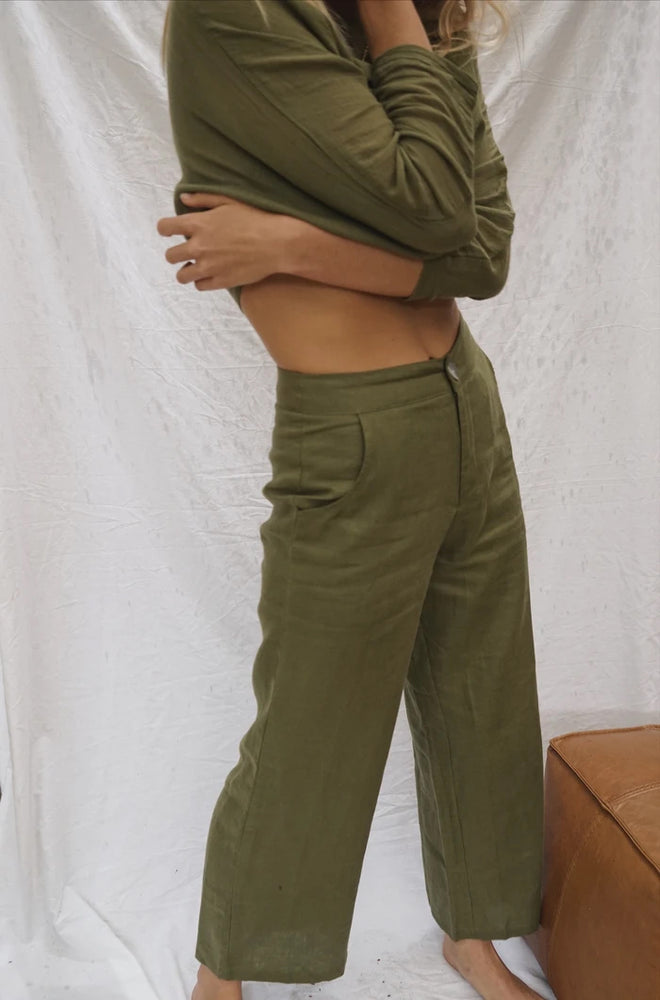 DAWN PANT in FERN by Indian Summer