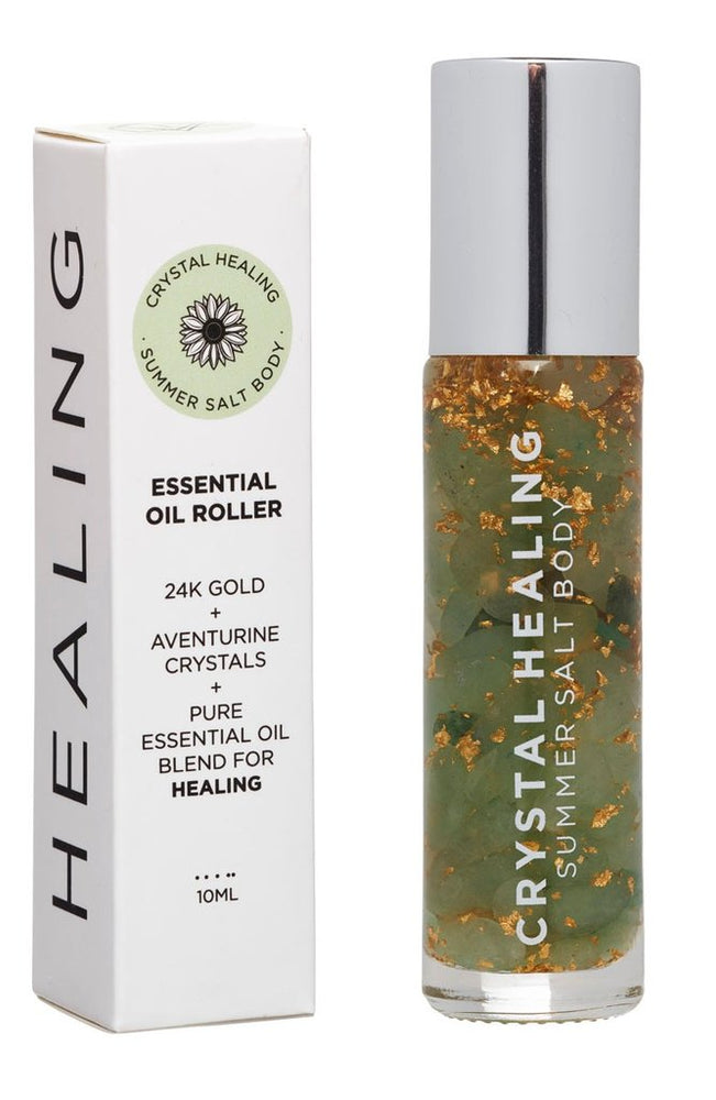 "Crystal Healing ""Healing"" Essential Oil Roller 10ml by Summer Salt Body"