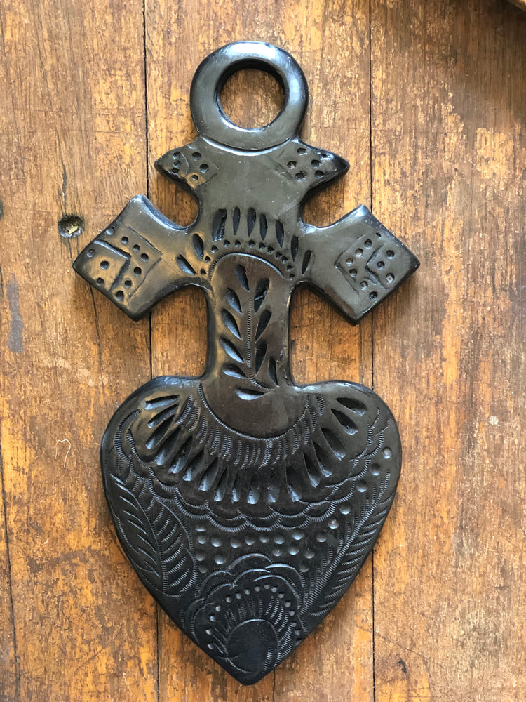 Black Clay Sacred Heart