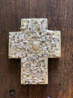 Handmade in Mexico - Milagros Cross - 13x10cm