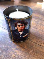 John Lennon Icon Candle