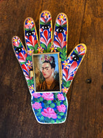 Large Frida Hand Mexican Nichos