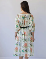 Lucille dress in Ecology *organic cotton by Lazybones