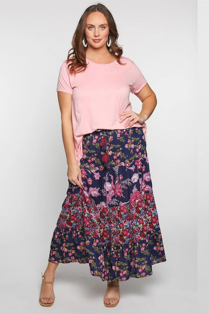 Piper Maxi Skirt in Primrose by Adrift