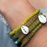 Recycled Glass Bracelets by Lisa Carney